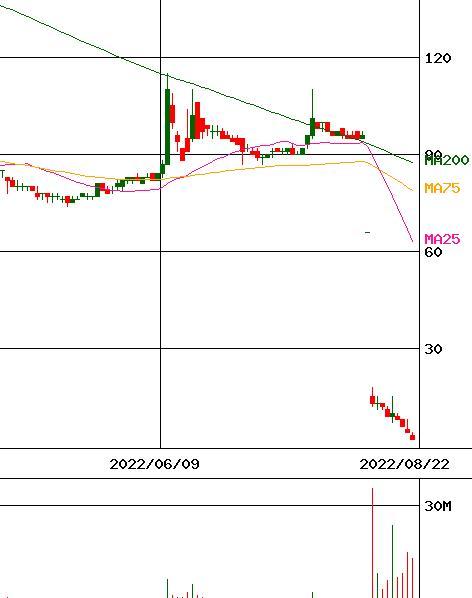 テラ 株価 今後 の 予想